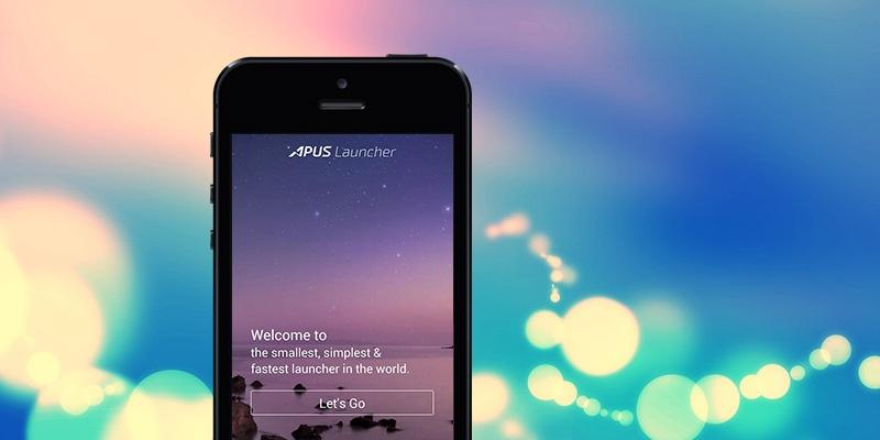 APUS Launcher declutters your smartphone home screen