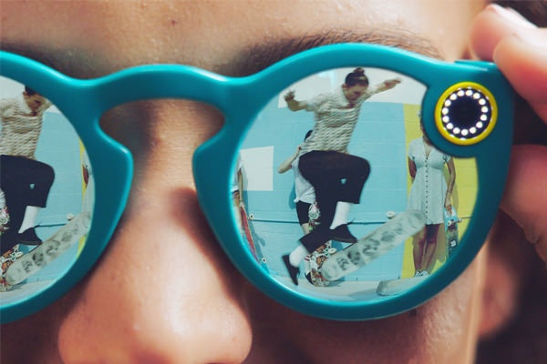 grabar videos spectacles snapchat