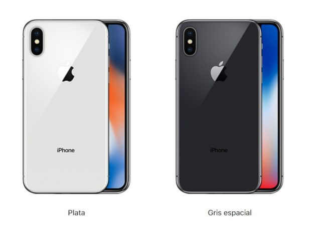 colores iphone x