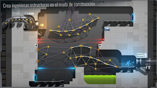 Bridge Constructor Portal gameplay ios android
