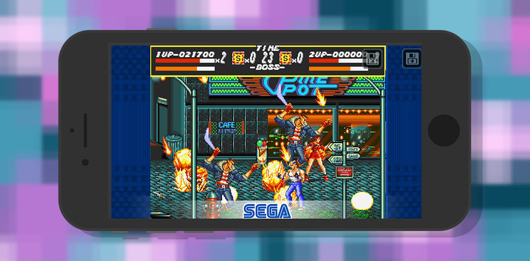 descargar streets of rage classic ios android