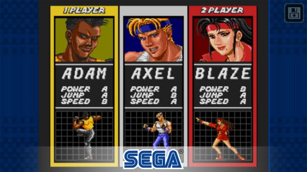streets of rage sega ios android