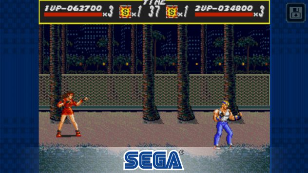 streets of rage sega ios android gameplay
