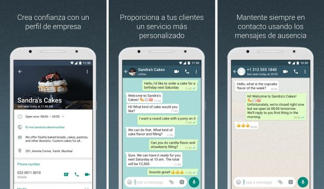WhatsApp business app android