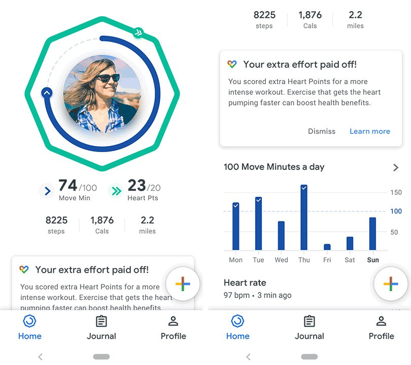 google fit home