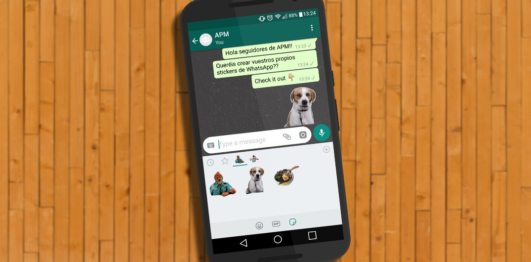 crear stickers de WhatsApp sticker studio