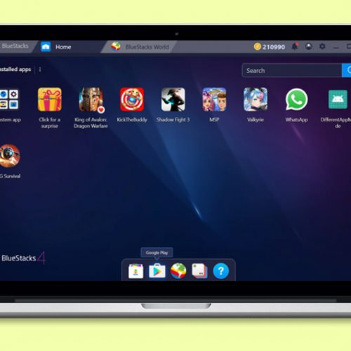descargar bluestacks para windows macos