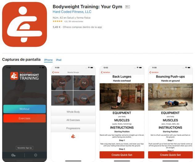 descargar Bodyweight Training Your Gym