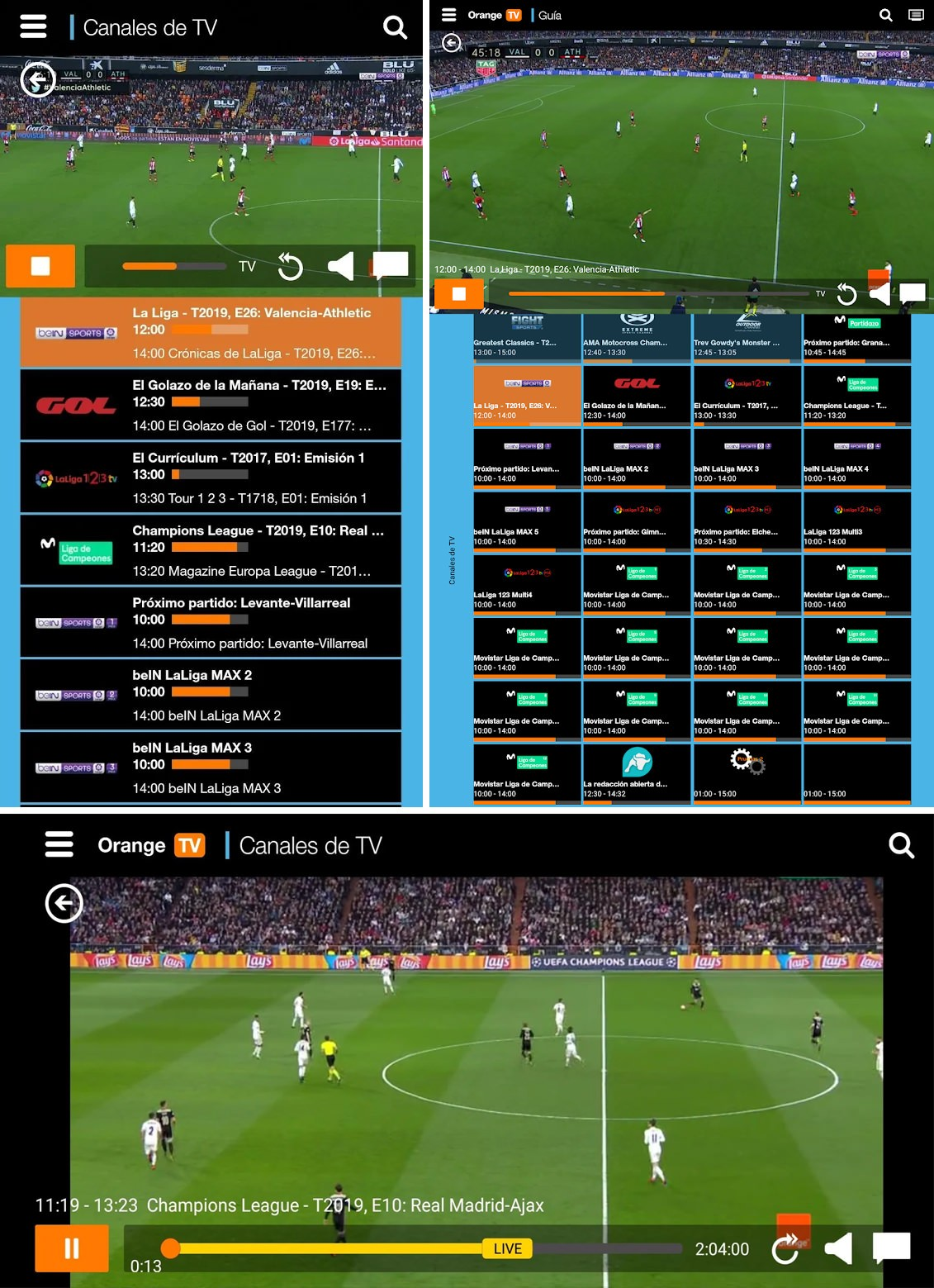 descargar orange tv futbol