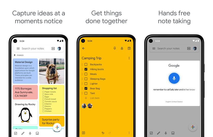 app-tomar-notas-google-keep